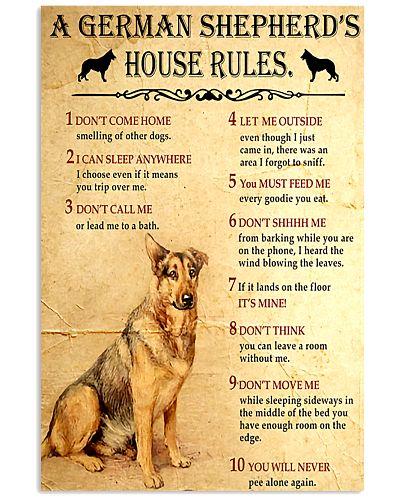 A German Shepherd's House Rules