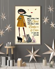 Autumn Girl Once Upon A Time Cats Reading 11x17 Poster lifestyle-holiday-poster-1