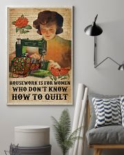 Dictionary Housework For Who Don't Know Quilting 11x17 Poster lifestyle-poster-1