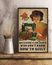 Dictionary Housework For Who Don't Know Quilting 11x17 Poster lifestyle-poster-3