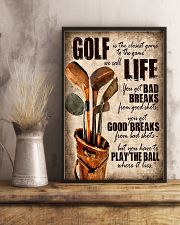 Golf Is Closet Game To Game 11x17 Poster lifestyle-poster-3