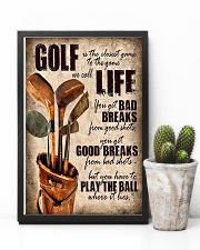 Golf Is Closet Game To Game 11x17 Poster lifestyle-poster-8