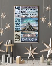 Cool Tone Sea Turtle I Hope You Dance 16x24 Poster lifestyle-holiday-poster-1