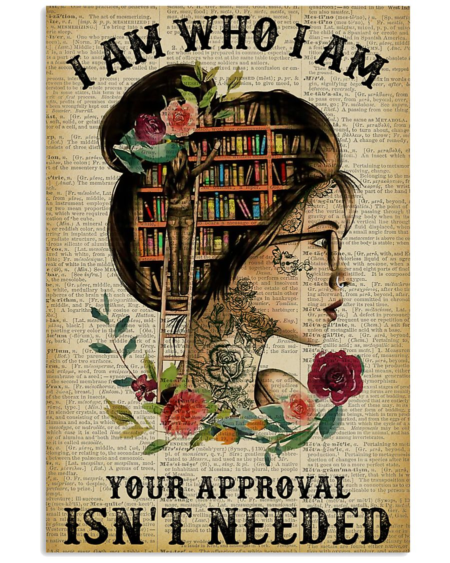 I Am Who I Am Tattoo Reading 11x17 Poster