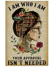 I Am Who I Am Tattoo Reading 11x17 Poster front