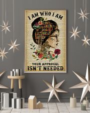I Am Who I Am Tattoo Reading 11x17 Poster lifestyle-holiday-poster-1