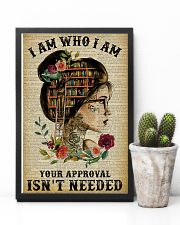 I Am Who I Am Tattoo Reading 11x17 Poster lifestyle-poster-8