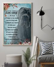 Advice From A Cane Corso 11x17 Poster lifestyle-poster-1