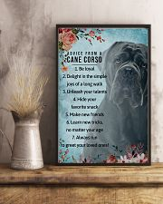 Advice From A Cane Corso 11x17 Poster lifestyle-poster-3
