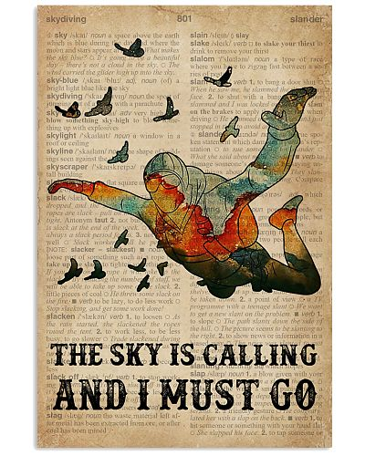 Dictionary The Sky Is Calling Skydiving