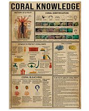 Coral Knowledge 11x17 Poster front