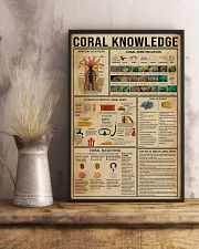 Coral Knowledge 11x17 Poster lifestyle-poster-3