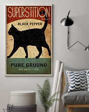 Black Cat Pepper Kitchen 16x24 Poster lifestyle-poster-1
