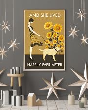 Sunflower Lived Happily Labrador Retriever 11x17 Poster lifestyle-holiday-poster-1
