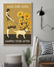 Sunflower Lived Happily Labrador Retriever 11x17 Poster lifestyle-poster-1