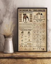 Staffordshire Bull Terrier Knowledge 11x17 Poster lifestyle-poster-3
