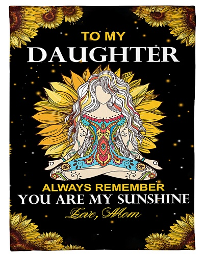 Mom To Daughter You Are My Sunshine Yoga