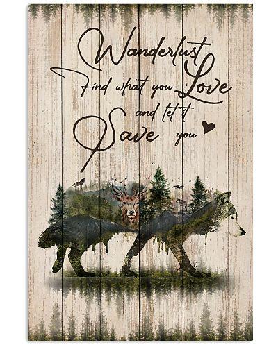 Wanderlust Forest Pallet Wolf Wanderlust