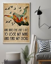 Dictionary Skydiving Into The Sky 16x24 Poster lifestyle-poster-1