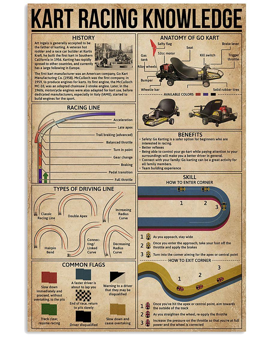 Kart Racing Knowledge 16x24 Poster