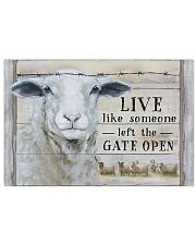 Sheep Live Like Someone Left Gate Open 17x11 Poster front