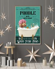 Green Bath Soap Company Poodle 11x17 Poster lifestyle-holiday-poster-1