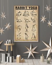Rabbit Yoga  11x17 Poster lifestyle-holiday-poster-1
