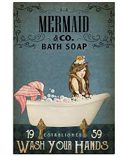 Vintage Bath Soap Mermaid 11x17 Poster front