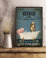 Vintage Bath Soap Mermaid 11x17 Poster lifestyle-poster-3