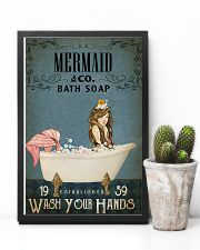 Vintage Bath Soap Mermaid 11x17 Poster lifestyle-poster-8