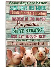 Pig Farmer You Can Do Your Best 11x17 Poster front