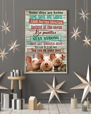 Pig Farmer You Can Do Your Best 11x17 Poster lifestyle-holiday-poster-1