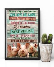 Pig Farmer You Can Do Your Best 11x17 Poster lifestyle-poster-8