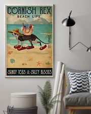 Beach Life Sandy Toes Cornish Rex 11x17 Poster lifestyle-poster-1