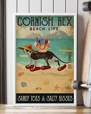 Beach Life Sandy Toes Cornish Rex 11x17 Poster lifestyle-poster-4