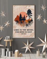 Texture Come To The Woods Camping 16x24 Poster lifestyle-holiday-poster-1