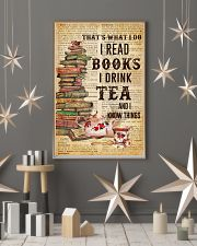 Books And Tea I Know Things 11x17 Poster lifestyle-holiday-poster-1