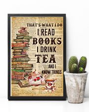 Books And Tea I Know Things 11x17 Poster lifestyle-poster-8