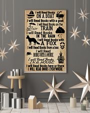 I Will Read Books Here Or There Reading Book 11x17 Poster lifestyle-holiday-poster-1