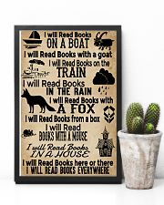 I Will Read Books Here Or There Reading Book 11x17 Poster lifestyle-poster-8