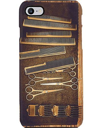 Hairstylist Vintage Tools phone Case