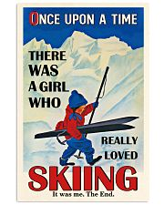 Once Upon A Time Skiing Black Haired Girl 16x24 Poster front