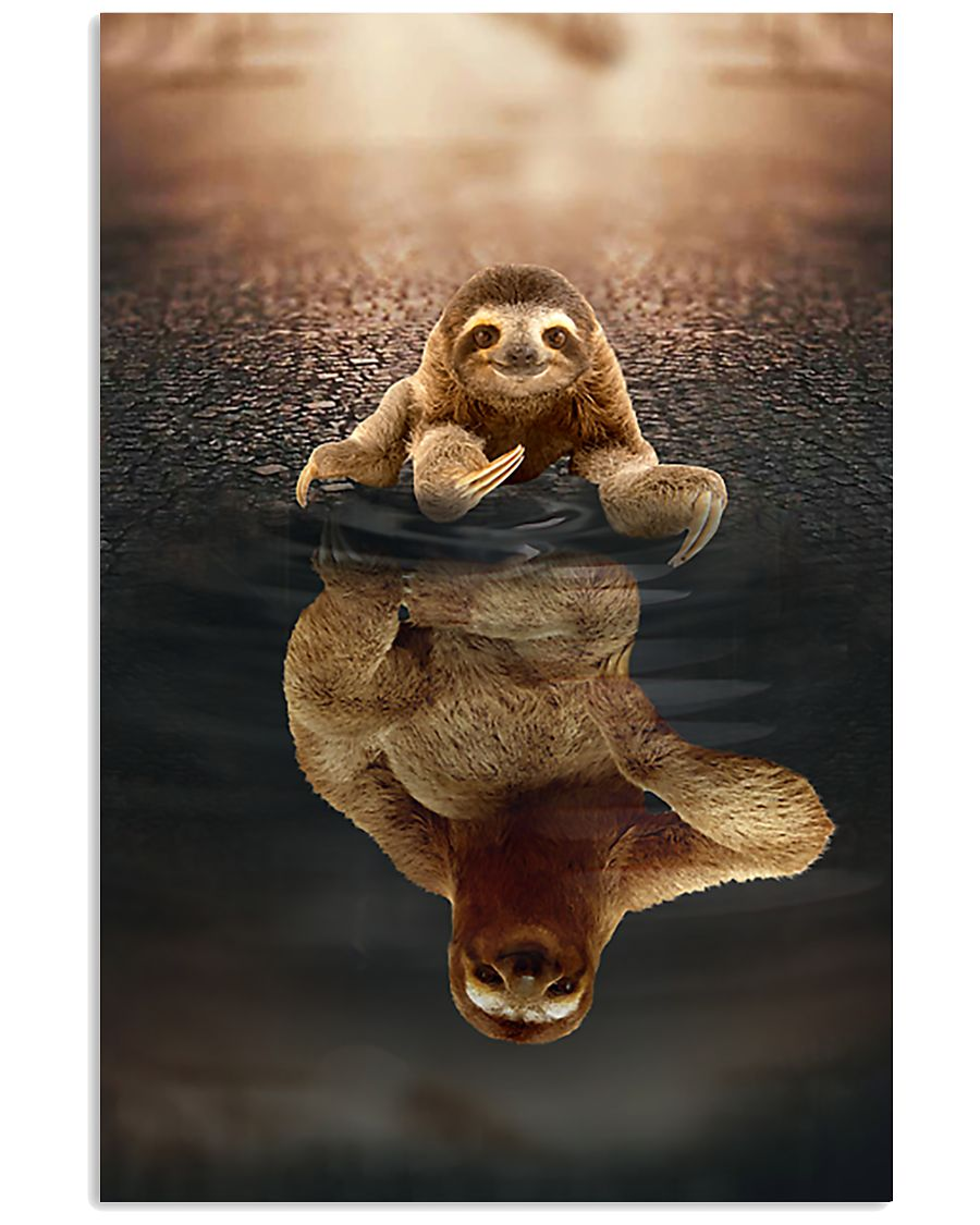 Sloth Believe In Yourself 11x17 Poster