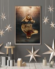 Sloth Believe In Yourself 11x17 Poster lifestyle-holiday-poster-1