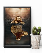 Sloth Believe In Yourself 11x17 Poster lifestyle-poster-8