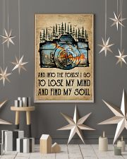 Watercolor Camera And Into The Forest I Go 11x17 Poster lifestyle-holiday-poster-1