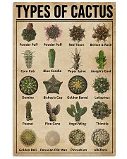 Types Of Cactus Succulents 11x17 Poster front