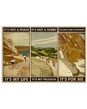 It's For Me Cycling 24x16 Poster front