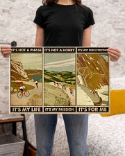 It's For Me Cycling 24x16 Poster poster-landscape-24x16-lifestyle-20