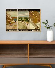 It's For Me Cycling 24x16 Poster poster-landscape-24x16-lifestyle-25